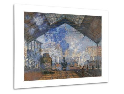 Saint Lazare Station-Claude Monet-Metal Print