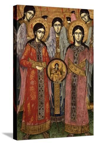 Synaxis (Assembly) of the Archangels--Stretched Canvas Print