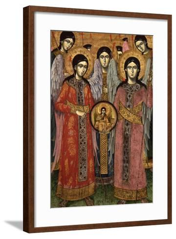 Synaxis (Assembly) of the Archangels--Framed Art Print