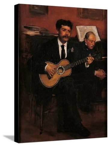Lorenzo Pagans and Auguste Degas-Edgar Degas-Stretched Canvas Print