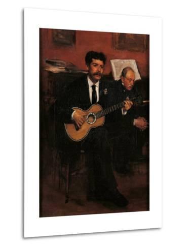 Lorenzo Pagans and Auguste Degas-Edgar Degas-Metal Print