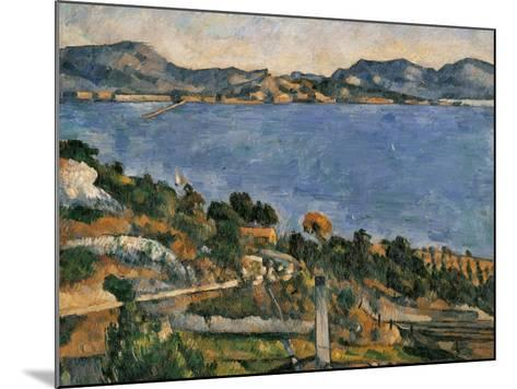 L'Estaque, View of the Bay of Marseille, 1878-1879-Paul C?zanne-Mounted Art Print