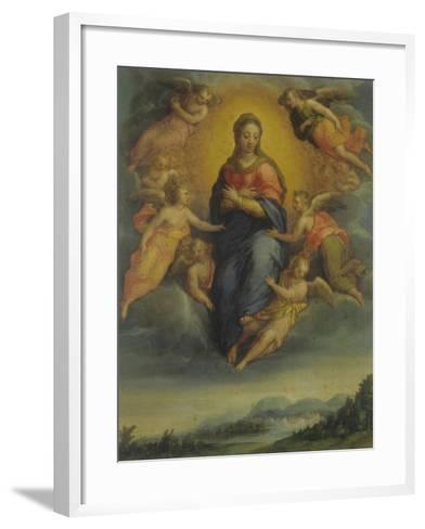 Assumption of the Virgin-Sebastiano Filippi-Framed Art Print