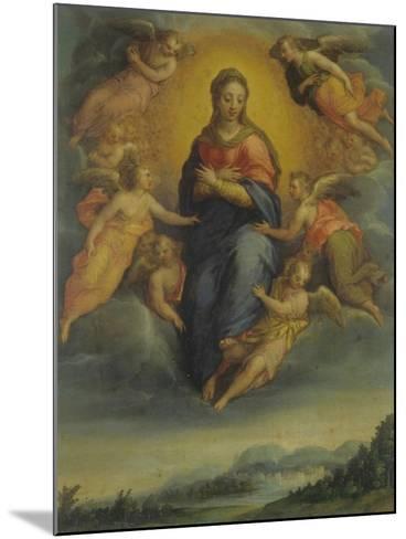 Assumption of the Virgin-Sebastiano Filippi-Mounted Art Print