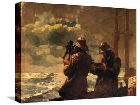 Eight Bells-Winslow Homer-Stretched Canvas Print