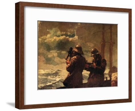 Eight Bells-Winslow Homer-Framed Art Print