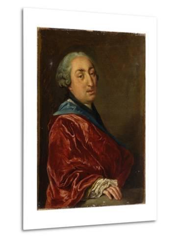 Portrait of a Gentleman-Pitocchetto Ceruti-Metal Print
