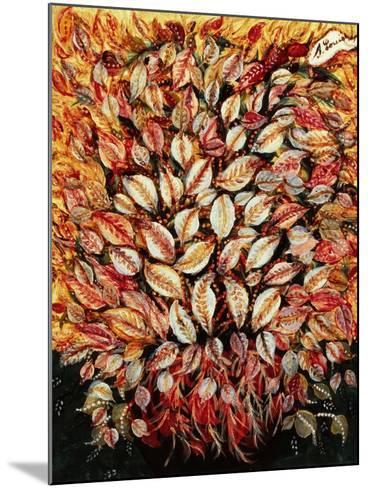 Leaves-Seraphine (de Senlis) Louis-Mounted Art Print