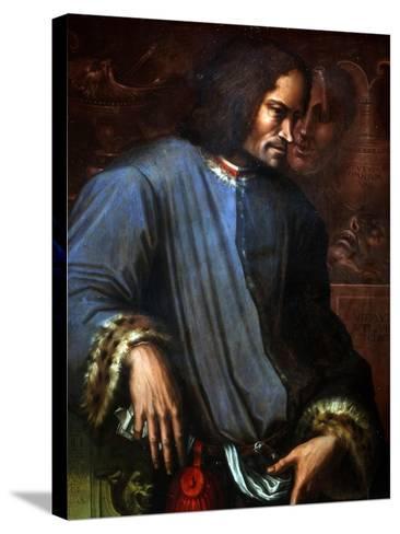 Lorenzo De Medici-Giorgio Vasari-Stretched Canvas Print