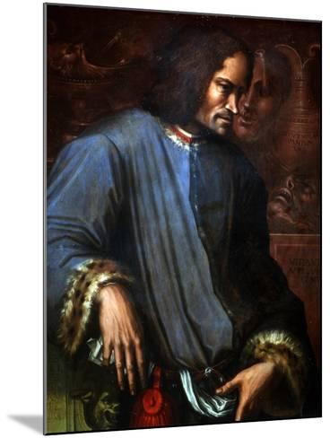 Lorenzo De Medici-Giorgio Vasari-Mounted Art Print