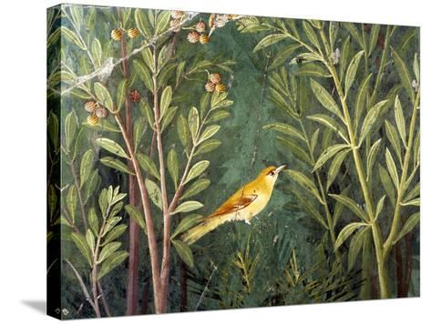 Yellow Bird, Decoration of the House of the Golden Bracelet--Stretched Canvas Print