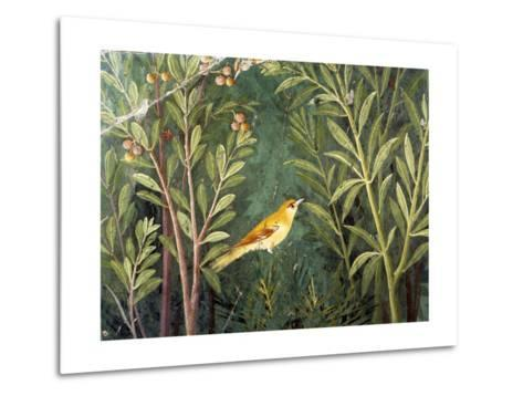 Yellow Bird, Decoration of the House of the Golden Bracelet--Metal Print