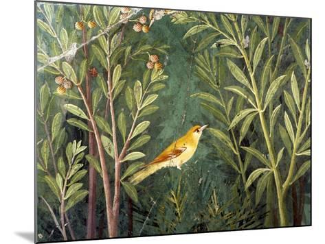 Yellow Bird, Decoration of the House of the Golden Bracelet--Mounted Art Print