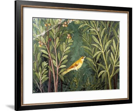Yellow Bird, Decoration of the House of the Golden Bracelet--Framed Art Print