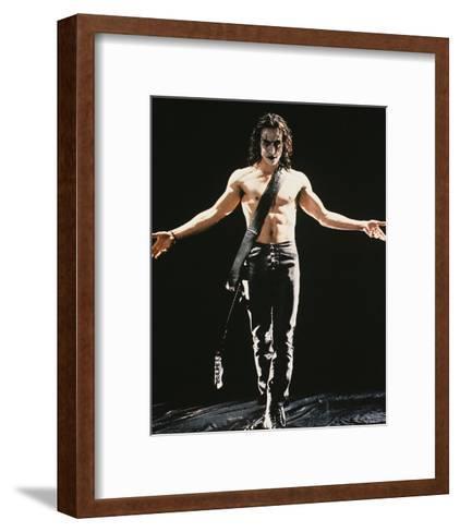 Brandon Lee--Framed Art Print
