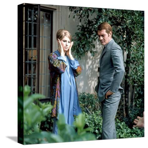 Funny Girl--Stretched Canvas Print