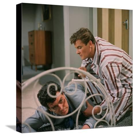 The Saint--Stretched Canvas Print