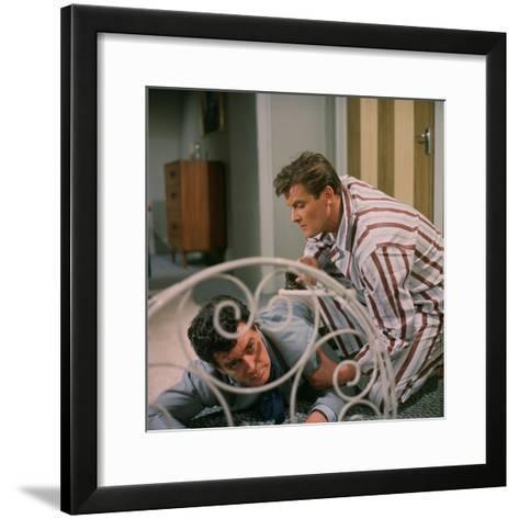The Saint--Framed Art Print