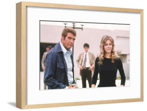 The Six Million Dollar Man--Framed Art Print
