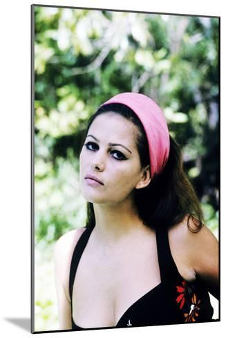 Claudia Cardinale--Mounted Photo
