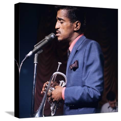 Sammy Davis--Stretched Canvas Print