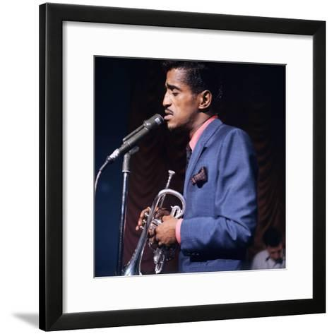 Sammy Davis--Framed Art Print