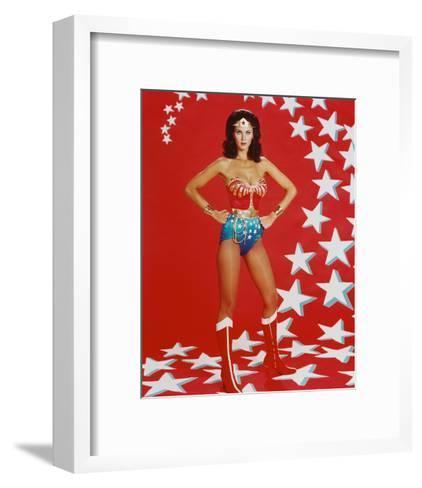 Lynda Carter--Framed Art Print