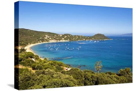 Campomoro Bay on Corsica-Massimo Borchi-Stretched Canvas Print