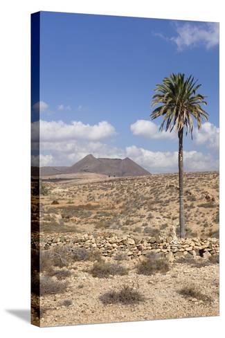 Volcano Caldera De Gairia, Tuineje, Fuerteventura, Canary Islands, Spain, Europe-Markus Lange-Stretched Canvas Print