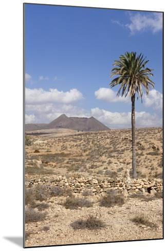 Volcano Caldera De Gairia, Tuineje, Fuerteventura, Canary Islands, Spain, Europe-Markus Lange-Mounted Photographic Print