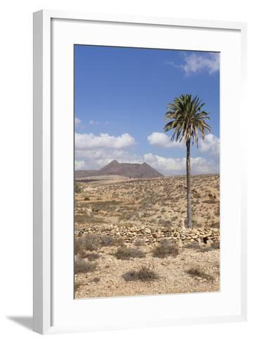 Volcano Caldera De Gairia, Tuineje, Fuerteventura, Canary Islands, Spain, Europe-Markus Lange-Framed Art Print