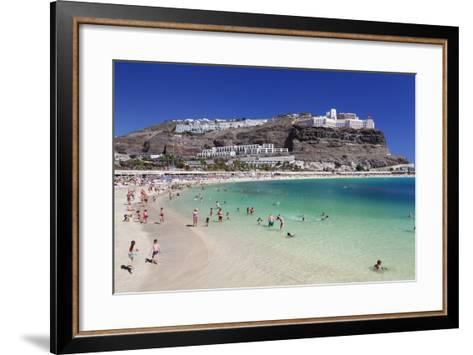 Playa De Los Amadores, Gran Canaria, Canary Islands, Spain, Atlantic, Europe-Markus Lange-Framed Art Print