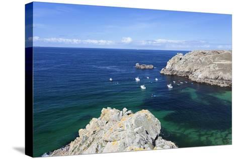 Baie Des Trepasses, Peninsula Sizun, Finistere, Brittany, France-Markus Lange-Stretched Canvas Print
