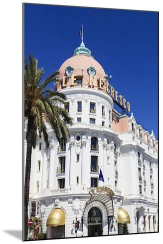 Hotel Negresco, Promenade Des Anglais, Nice-Amanda Hall-Mounted Photographic Print