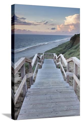 Red Cliff, Kampen, Sylt, North Frisian Islands, Nordfriesland, Schleswig Holstein, Germany, Europe-Markus Lange-Stretched Canvas Print