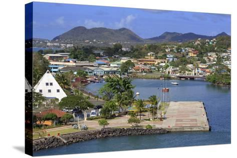 Castries Harbor, St. Lucia, Windward Islands, West Indies, Caribbean, Central America-Richard Cummins-Stretched Canvas Print