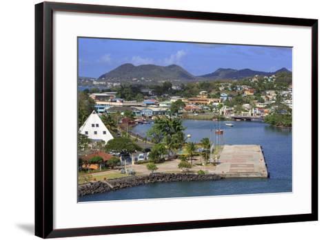 Castries Harbor, St. Lucia, Windward Islands, West Indies, Caribbean, Central America-Richard Cummins-Framed Art Print