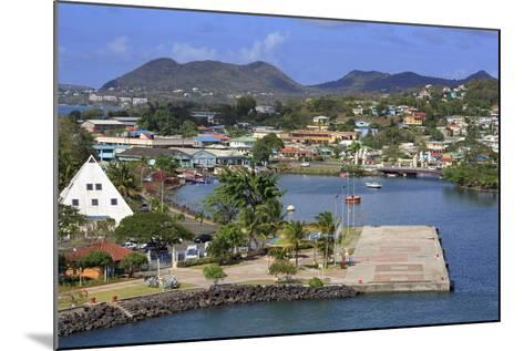 Castries Harbor, St. Lucia, Windward Islands, West Indies, Caribbean, Central America-Richard Cummins-Mounted Photographic Print