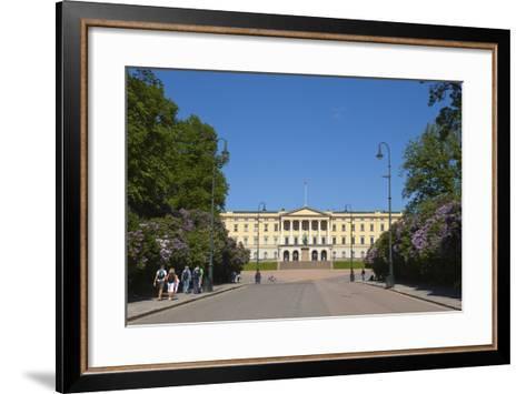 Royal Palace (Slottet), Oslo, Norway, Scandinavia, Europe-Doug Pearson-Framed Art Print