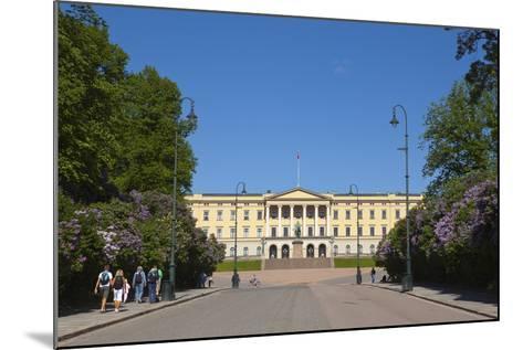 Royal Palace (Slottet), Oslo, Norway, Scandinavia, Europe-Doug Pearson-Mounted Photographic Print