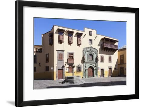 Casa De Colon, Vegueta Old Town, Las Palmas, Gran Canaria, Canary Islands, Spain, Europe-Markus Lange-Framed Art Print