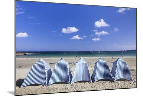 Beach of Perros Guirec, Cote De Granit Rose, Cotes D'Armor, Brittany, France, Europe-Markus Lange-Mounted Photographic Print