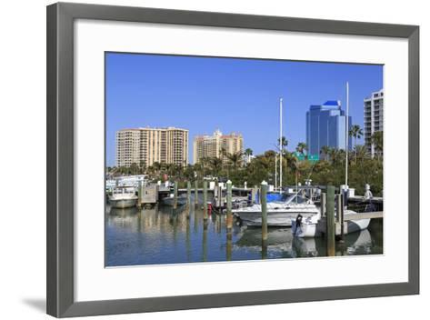 Bayfront Marina, Sarasota, Florida, United States of America, North America-Richard Cummins-Framed Art Print