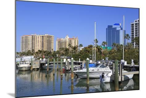 Bayfront Marina, Sarasota, Florida, United States of America, North America-Richard Cummins-Mounted Photographic Print