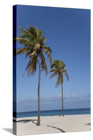 Playa Del Este, Havana, Cuba, West Indies, Central America-Angelo Cavalli-Stretched Canvas Print