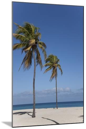 Playa Del Este, Havana, Cuba, West Indies, Central America-Angelo Cavalli-Mounted Photographic Print