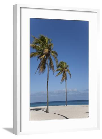 Playa Del Este, Havana, Cuba, West Indies, Central America-Angelo Cavalli-Framed Art Print