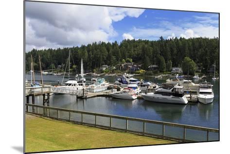 Gig Harbor Marina, Tacoma, Washington State, United States of America, North America-Richard Cummins-Mounted Photographic Print