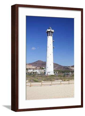 Lighthouse of Faro De Jandia, Jandia, Fuerteventura, Canary Islands, Spain, Atlantic, Europe-Markus Lange-Framed Art Print