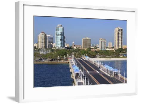 St. Petersburg Skyline, Tampa, Florida, United States of America, North America-Richard Cummins-Framed Art Print